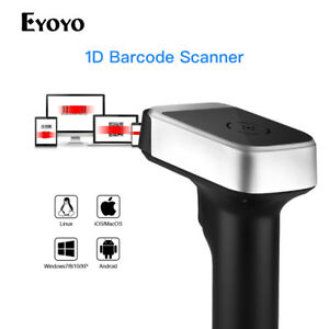 Eyoyo 2 In 1 Wired 2 4g Wireless Barcode Scanner For Android Smartphone Tablet