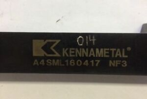 Kennametal A4sml160417 Nf3 Tool Holder