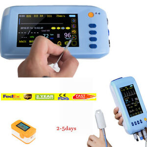 Touch Screen Medical Patient Monitor 5 paras Icu Ccu Vital Sign Cardiac Machine