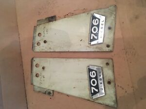 International Farmall Tractor 706 Diesel Front Side Panels