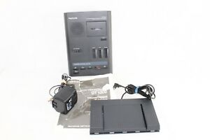 Olympus Pearlcorder T1000 Microcassette Transcriber W pedal Ac Adapter