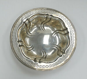 Beautiful Vintage Meriden Britannia Sterling Bowl 3 4 Diameter A3462