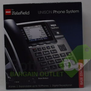 Rca 4 line Business Phone System Base Station