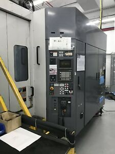 Mori Seiki Sh 630 24 8 X 24 8 Pallet Cnc Horiz Machining Center New 96 W fanuc