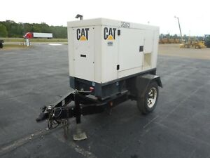 2004 Cat Olympian Xq20p2 20kw Diesel Generator With Only 6728 Hours