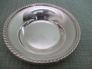 Vintage Sterling Silver Candy Or Nut Dish 5 1 2 Inch