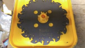 Kennametal 6 Slot Milling Cutter 097 160 Cutting Width Kvns06118 Made Germany