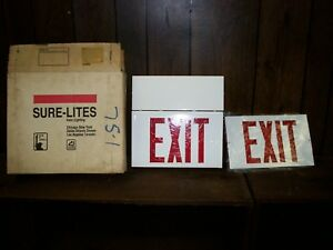 Sure lites Halo Lighting Exit Sign 5vc18a Catalog Plx 6200 rp