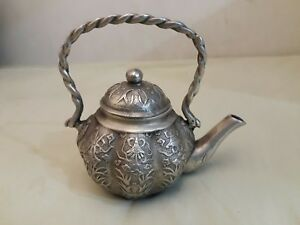 Antique Sterling Silver Tea Pot