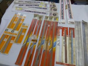 Lot Of Brazing Welding Rods