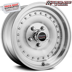 American Racing Ar61 Outlaw I Machined 15 x10 Custom Wheels Rims set Of 4 New