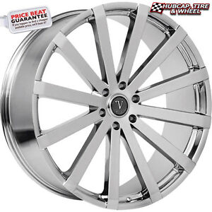 Velocity Vw12b V12b Chrome 30 x10 Custom Wheels Rims set Of 4 Free Ship