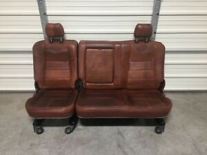 1999 2010 Ford F250 F350 F450 Super Duty Superduty Rear King Ranch Seat 60 40