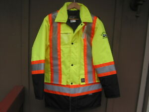 3m Work King Construction High Visibility Safety Jacket Small New With Tags