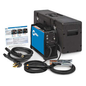 Maxstar 161 S Miller Electric Stick Welder 120 240 Vac w case