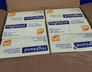 21 600 Highland Sticky Notes 3 X 3 Squares In Yellow 100 Count Pads