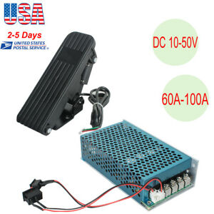10 50v 100a 5000w Reversible Dc Motor Speed Controller Pwm Control Soft Start