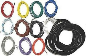 Zeitronix 120ft Multi color Wire Kit High Temperature Wiring Loom