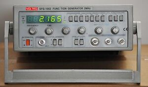 2 Mhz Function Generator Frequency Counter Sfg 1002