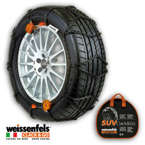 Snow Chains Weissenfels Rts Todoterreno Clack go Gr 3 13mm 205 50 R16 205 50 16
