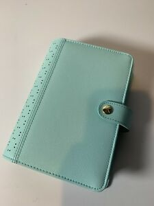 Kikki k Medium Personal Planner Blue turquoise Open But Never Used