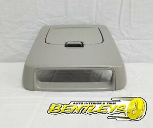 2004 2005 2006 2007 2008 Ford F 150 Reg Cab Overhead Center Console Cubby Gray