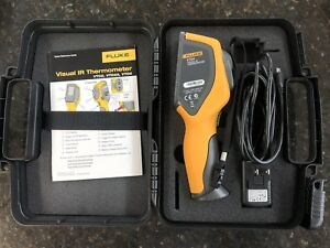 Fluke Multi meter Vt04 Visual Ir Thermometer Comes With Hard Case