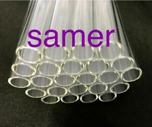 4 Inch Long 10 Mm od And 8 Mm Id Pyrex Glass Blowing Tubes 1 Mm Thick Wall
