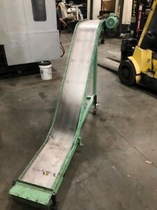 New London Magnetic Chip Conveyor 12 X 20 Collection Area 100 Length