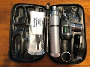 Welch Allyn Diagnostic Set 97200 Mcl Macroview Otoscope coaxial Ophthalmoscope