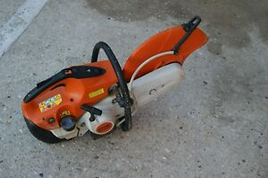 Stihl Ts500i Gas Powered Concrete Cut off Saw In Good Condition