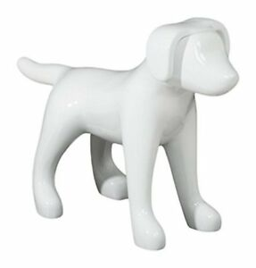 Newtech Display Ma dog3sm swht Small Terrier Dog Mannequin 13 Height 18 Larg