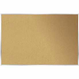 Cork Bulletin Board Aluminum 24 w X 18 h Lot Of 1