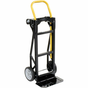 Ultra Lite Nylon 2 in 1 Convertible Hand Truck Lot Of 1