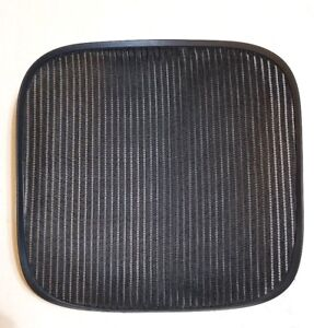 Refurbished Herman Miller Aeron Seat Mesh Only Size B Medium Black 3d01