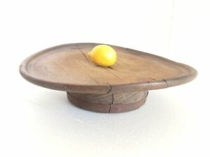 1800 S Antique Ottoman Turkish Low Round Primitive Dining Wooden Rustic Table