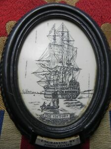 Quality Item The Victory Ship Wall Plaque Faux Scrim Srp 120