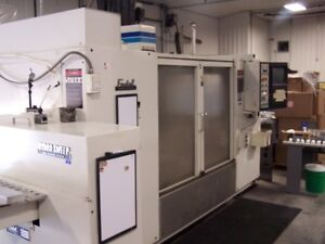 Fadal 4020 Cnc Vmc 28 Extended Z 30 Tools With Pallet Changer Hydrosweep