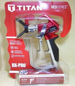 Titan Rx Pro Airless Paint Sprayer With Tr1 517 0538020 Open Box