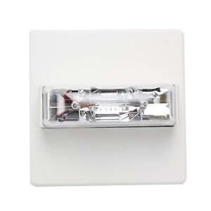 Wheelock Rss 24mcc fw White Ceiling Mount Fire Alarm Visual Signal Strobe