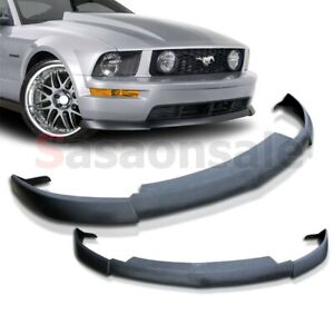 Made For 2005 2009 Ford Mustang V8 Only Cv Ii Type 2 Front Pu Bumper Lip Spoiler