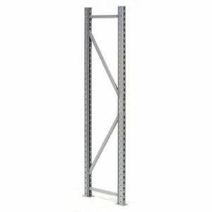 Extra High Capacity Bulk Rack Upright Frame 48 d X 72 h Lot Of 1