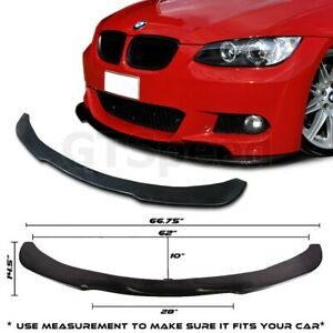 Fit For 05 10 Bmw E90 E92 Poly Urethane Under Front Bumper Lip Spoiler Splitter