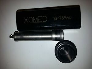 Xomed Micro Drill Hand Piece Motor Xps Ent Surgical 18 95860 11290026 f
