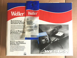 Weller Wesd51 Digital Soldering Station With Extra Etr Tip