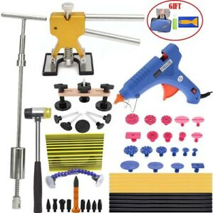 Pdr Kits Set Slide Hammer Reflector Paintless Dent Repair Tools Car Auto Removal