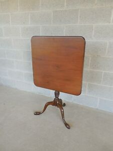 Kittinger Colonial Williamsburg Cw 69 Mahogany Tilt Top Table