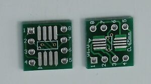 2 4 10 Sop8 So8 Soic8 Tssop8 Msop8 To Dip8 Adapter Pcb Diy Conveter Board Usa