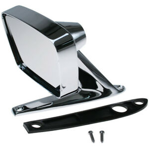 1967 1969 Galaxie Outside Dummy Remote Mirror With Convex Glass Right