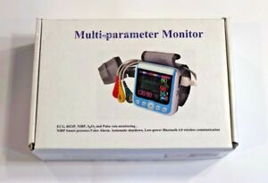 Multi parameter Monitor ecg Resp Nibp Spo2 And Pulse Rate Monitoring new